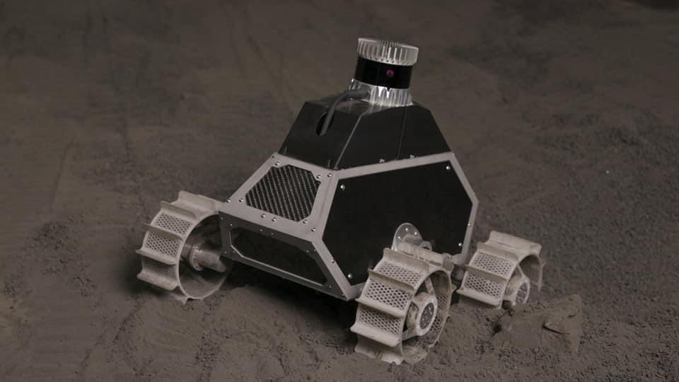 robot espacial